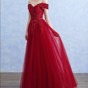 Elegant Off the Shoulder Prom/Evening Dress